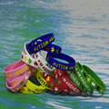 100PCS/Lot high Quality Autism debossed and ink filled rubber silicone wristbands bracelets for gifts S01