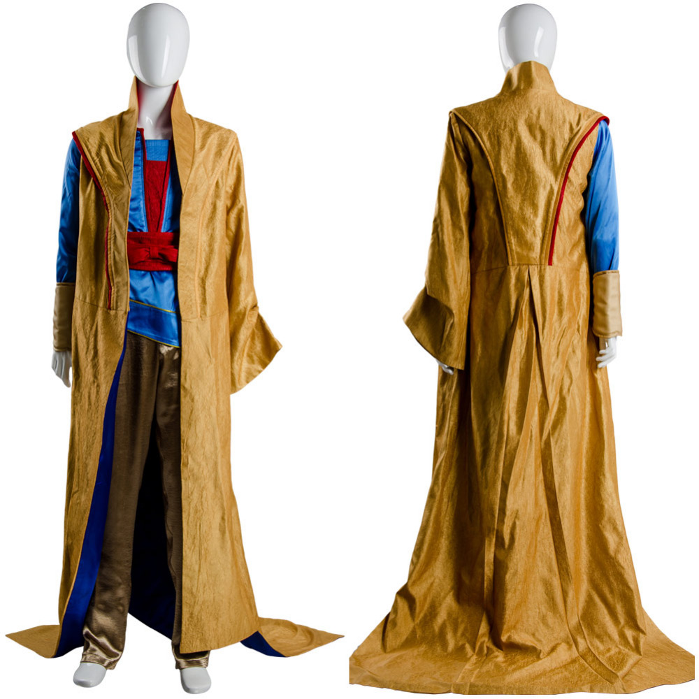 Thor 3 COSTUME Ragnarok Grandmaster En Dwi Gast Cosplay Costume Outfit Robe Cloak Outfit Full Sets