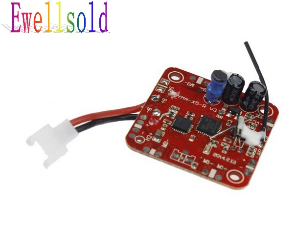 все цены на Ewellsold Newest  X5C X5  RC RC quadcopter RC drone spare parts V6 2.4G receiver /PCB board/ Main board  Free shipping онлайн