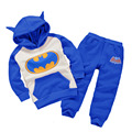 Baby boys kid suit set full children hooded+pants 2 pcs set suit clothes sets kids clothing set 2017 New Spring Autumn tracksuit