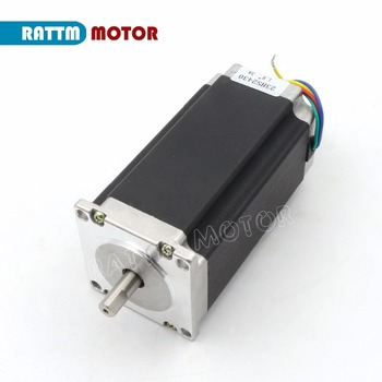 Nema 23 stepper motor 112mm 425 Oz-in, 3A 23HS2430 Stepping Motor for CNC Engraving Milling Machine image