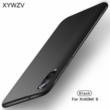Xiao mi mi 9 ince darbeye Dayanıklı Kapak Lüks Ultra ince Pürüzsüz Sert PC Xiaomi IÇIN telefon kılıfı mi 9 arka kapak için xiao mi mi 9