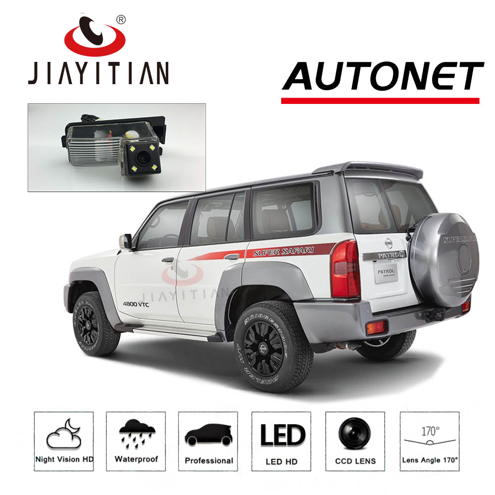 JIAYITIAN Rear View Camera For Nissan Patrol Y61 Patrol 4WD/CCD/Night Vision/Reverse Camera/Backup Camera/License Plate Camera