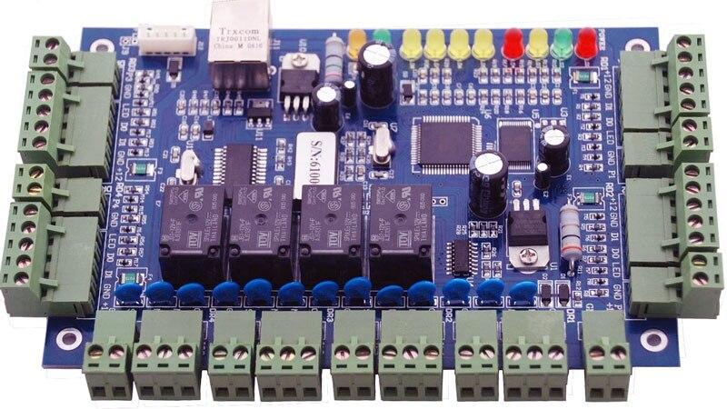Wiegand Controller TCP IP Four Door Access Controller Suport Multi Access Function Fire Alarm Etc Sn