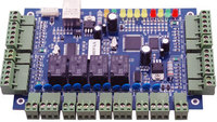 Wiegand controller,TCP IP four Door Access Controller,suport multi access function,Fire Alarm etc.sn:B04