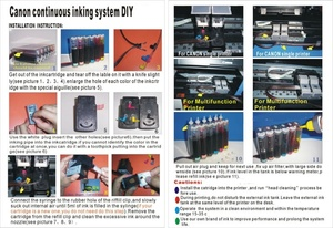 Image 4 - 4C universal CISS for Canon , DIY CISS  for HP  with drill and Suction tool and all accessories