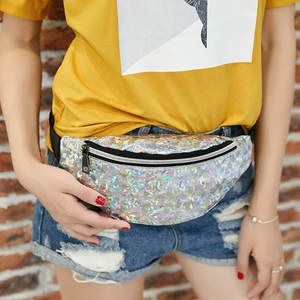 ISHOWTIENDA belt bag fanny pack waist bag women chest bags