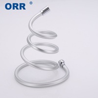 Free shipping New Plumbing Hoses Sqaure G1/2 PVC Flexible 1.5m Bathroom Tube Shower water pipe Mangueira ducha banheiro ORR