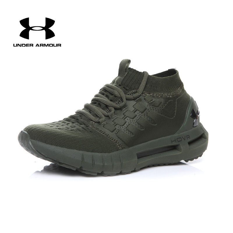 Under Armour UA HOVR Phantom Men's Running shoes male flat sock sneakers Light Breathable Cushioning Athletic Trainers hot sale цена