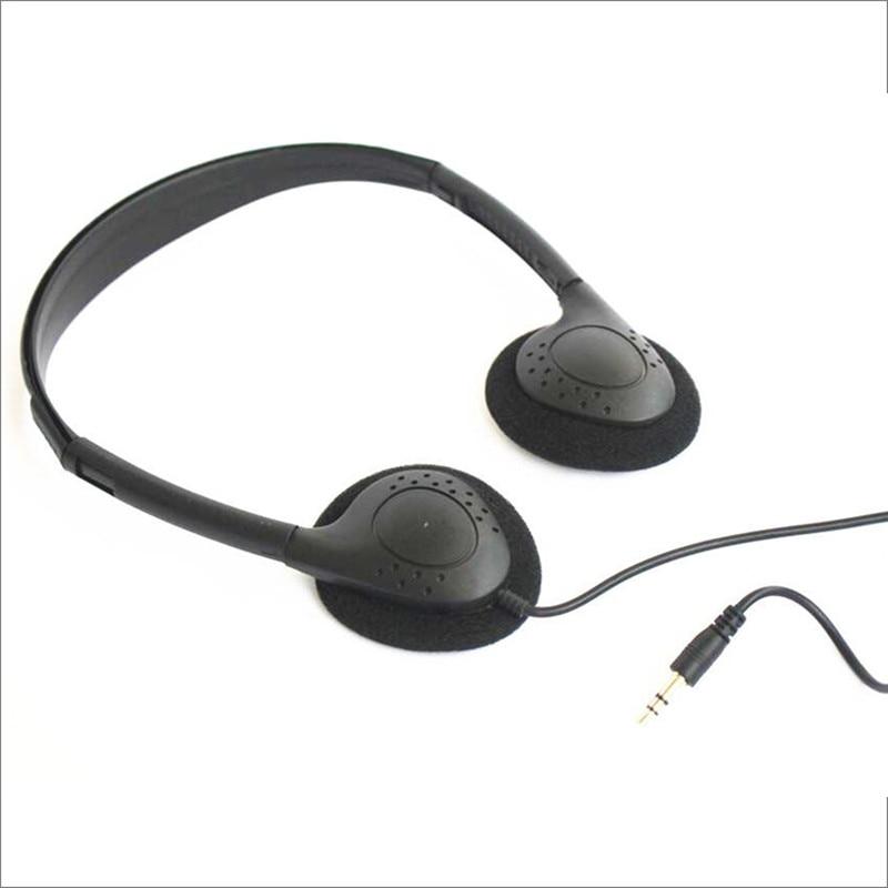 Linhuipad Economical Stereo-Kopfhörer 3,5-mm-Einweg-Headset für - Tragbares Audio und Video - Foto 3