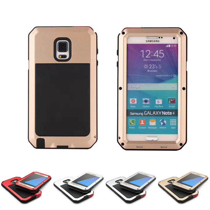 outlet store c666b 43176 US $12.9 |Shock/dust/water Proof Gorilla Glass Metal Military Heavy Duty  Cover Case for Samsung Galaxy Note 3 Note 4 Note 5 on Aliexpress.com | ...