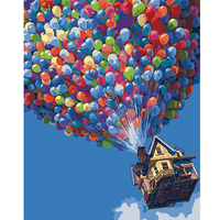 Y17 New Arrival Unique Gift Digital DIY Oil Painting On Canvas Painting By Numbers Balloon Art