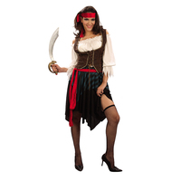 Pirate Costumes Halloween Carnival Party Costume Captain Adult Fancy Cosplay Clothing For Women Men Lover Woman