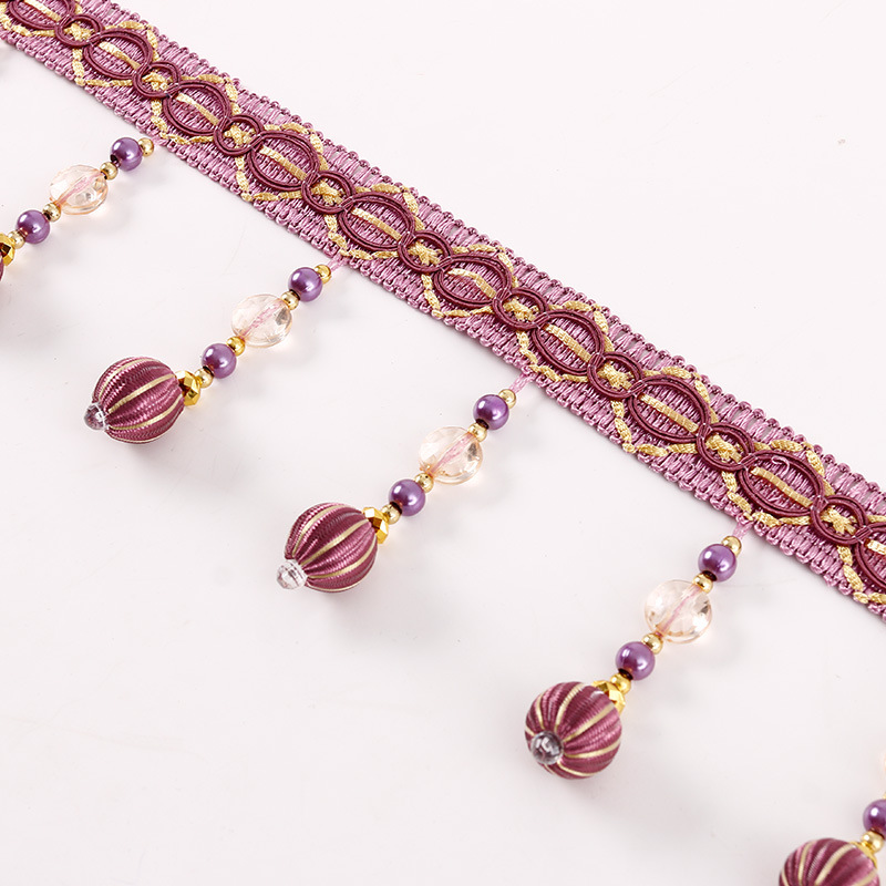check MRP of thread curtains with beads