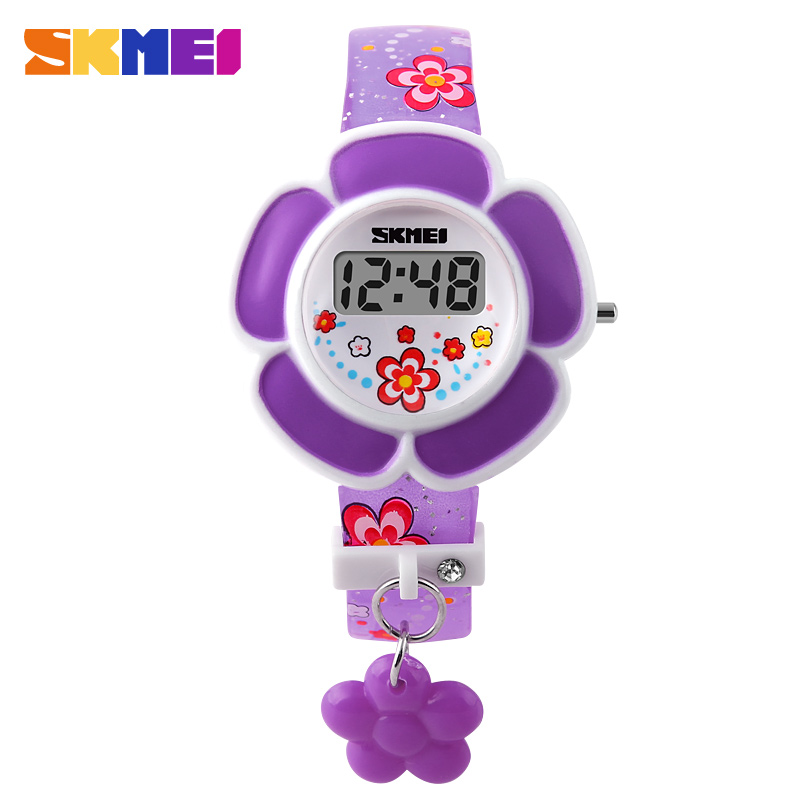 Kids LED Electronic Digital Watch Children Girls Cartoon Fashion Casual Watches Wristwatches Relogio Feminino Reloj Montre SKMEI new 2015 led watch women kids watch fashion casual cartoon watches colorful rainbow girls