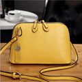 Fashion Women's Genuine Leather Female  Shoulder Bags women messenger bags handbag Double Zipper  small handbag CC1017