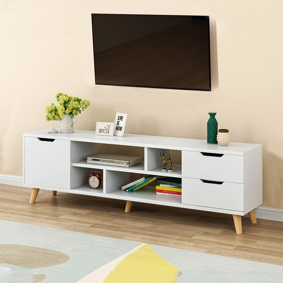 European Style Modern Coffee Table Television Stands Living Room TV Stand  With Three Cabinet Storage Furniture meuble tv table