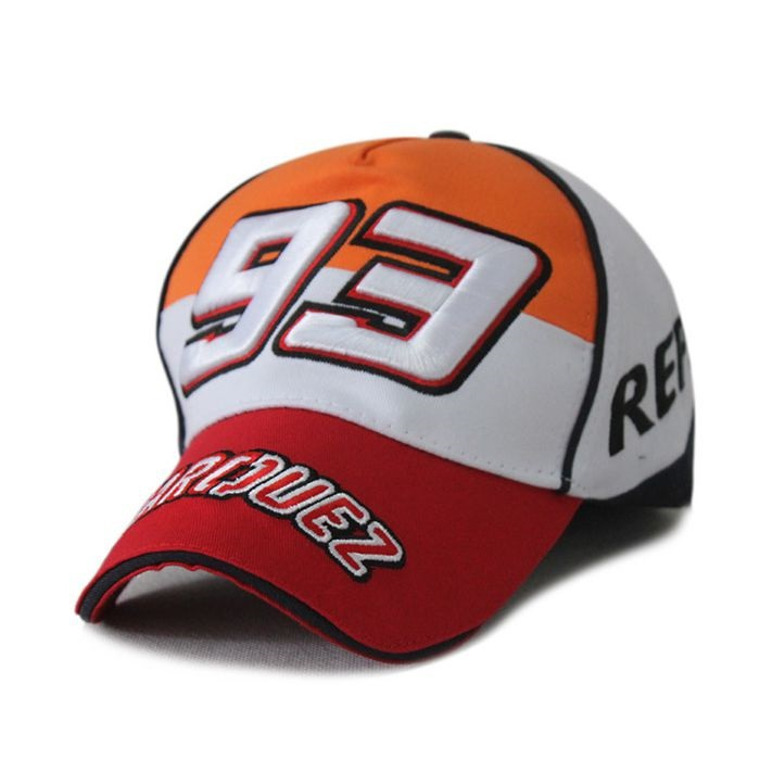 Sport Cap F1 Car Motocycle Racing MOTO GP Marc Marquez 93 Embroidery Baseball  Cap Hat Racing Cap Adjustable Strap Free Shipping-in Baseball Caps from ... c470d6013be