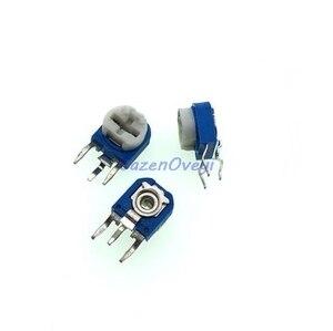 Image 1 - 20 pz/lotto RM063 10k ohm blu e bianco può essere regolata resistenza potenziometro 103 In Magazzino