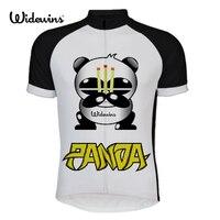 Nuova panda cycling jersey 2017 stili di estate manica corta pullover di riciclaggio di scegliere Cycling maglie a maniche corte camicia 6504