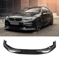 A C Style Mtech Bumper Carbon fiber front Lip fit For BMW 5 Series G30 G31 G38