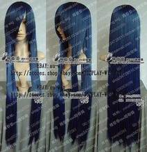 WIG Cos Wigs Sky Blue 150CM Long Straight Cosplay Heat-Resistant WIG Hair Free Shipping(China)