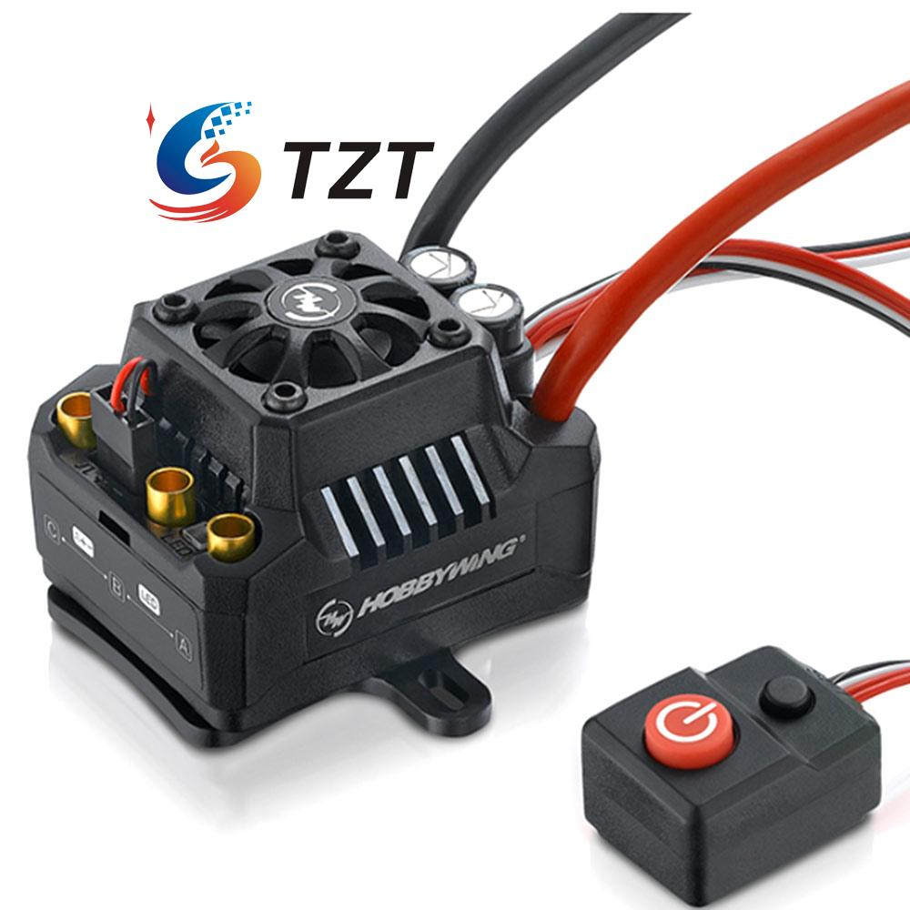 Hobbywing EZRUN MAX10-SCT 1:10 Brushless ESC Waterproof Electronic Speed Controller for Car 2 sct focuser for celestron c8 c925 c11 meade etc dual speed