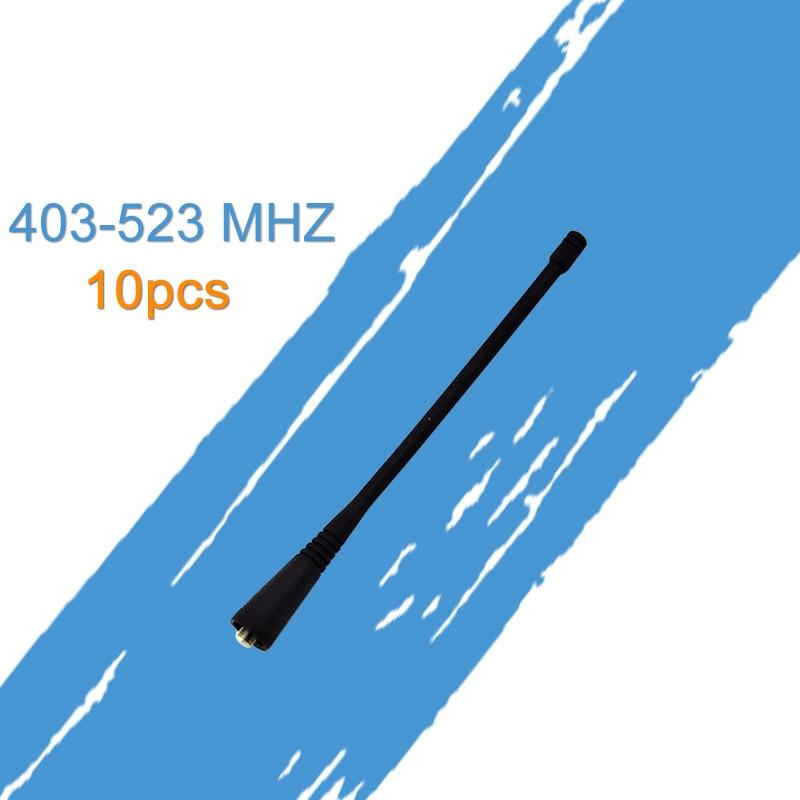 Generic 10 X UHF Stubby Antenna For Motorola Radio HT1250 GP300 CP200 GP328 EP450 PR400
