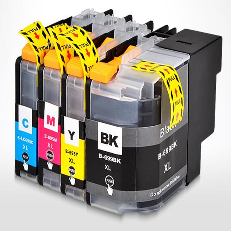 4pcs LC227XL Compatible ink cartridge LC227 LC225 For Brother DCP-J4120DW MFC-J4420DW MFC-J4620DW MFC-4625DW printer
