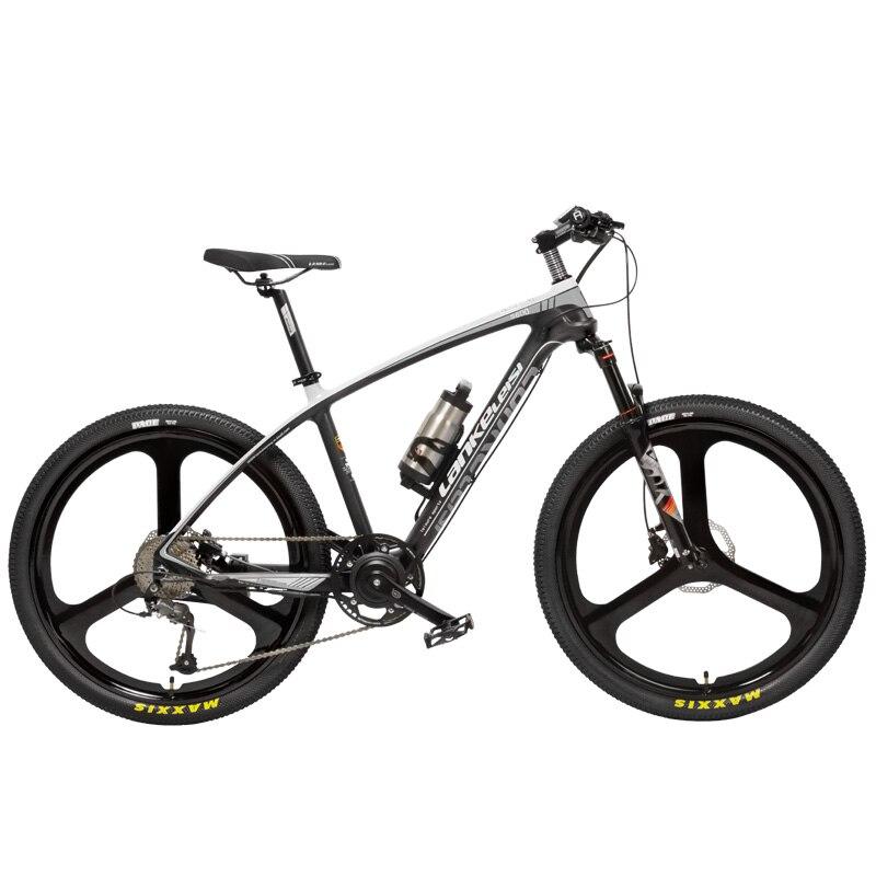 S600 2018 Nouveau 26 ''Ebike Cadre En Fiber De Carbone 240 w 36 v Au Lithium Batterie Pédale Vélo À Assistance Électrique Léger montagne Vélo