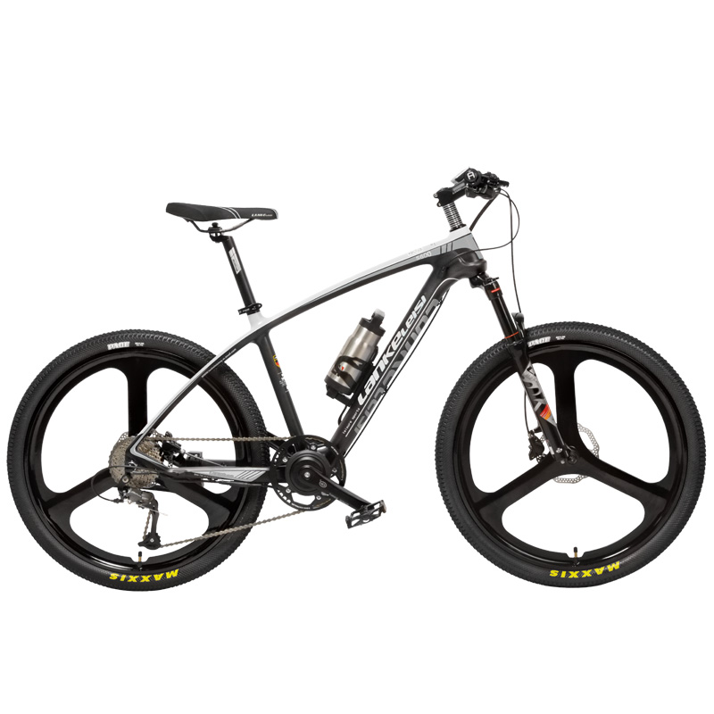"S600 2018 New 26"" Ebike Carbon Fiber Frame 240W 36V Lithium Battery Pedal Assist Electric Bicycle Lightweight Mountain Bike"