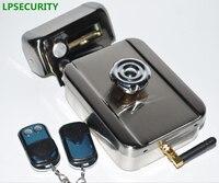 LPSECURITY remote control Electric Lock Control Access Mute Lock Electric Door Lock For Doorbell Intercom Access (no battery)