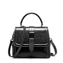 Fashion famous brand crossbody bags for women messenger bags new large capacity single shoulder slung oil wax leather ladies bag zmqn women leather handbags oil wax soft leather hand bags large capacity crossbody bags famous brand portable strap adjustable