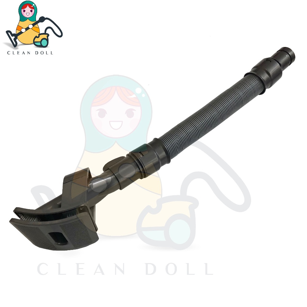 CLEAN DOLL Replacement Grooming brush ,Extension hose for DYSON V6 DC58 DC59 DC62 DC74 Dog Groom Tool Pet Grooming Brush Hose 1pcs pylons charger hanger charging base for dyson dc58 dc59 dc62 dc74 v6 v6 origin vacuum cleaner replacement accessories parts