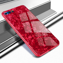 For Huawei Honor 9 Case Luxury Bling Tempered Glass Back Cover Lite 10 V10 P10 P20 P30 Pro