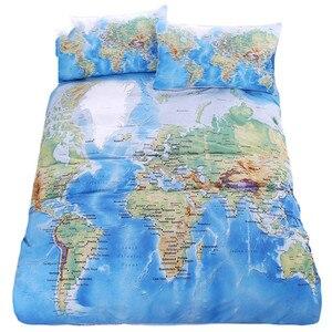 BeddingOutlet World Map Beddin