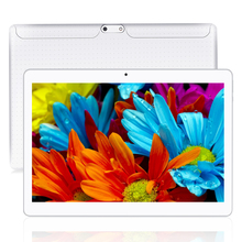 Yuntab 10 1 K107 Android 5 1Tablet 1GB 16GB Quad Core Phablet White Color Unlocked Dual
