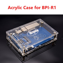 Прозрачный акриловый чехол Корпус коробки для банан Pi R1 BPI-R1