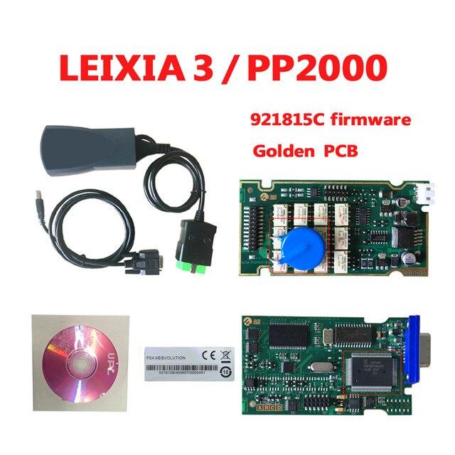 Lexia 3 PP2000 Với 921815C Miếng Lexia 3 V48 PP2000 V25 Diagbox 7.83 Lexia3 PP2000 Công Cụ Chẩn Đoán Cho C Itroen cho P Eugeot