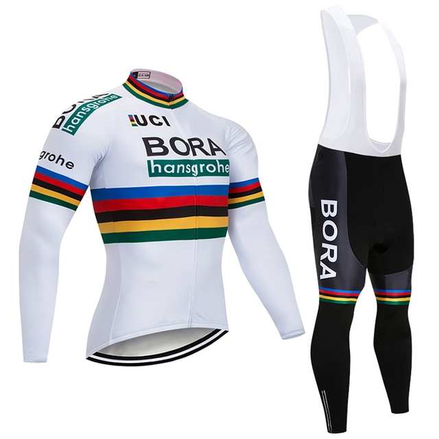 9497cc457 2018 Pro Team Black Cycling Jersey Set Ropa Ciclismo Hombre Winter Thermal  Fleece Bicycle Clothing MTB Bike Jersey Bib Pants Kit