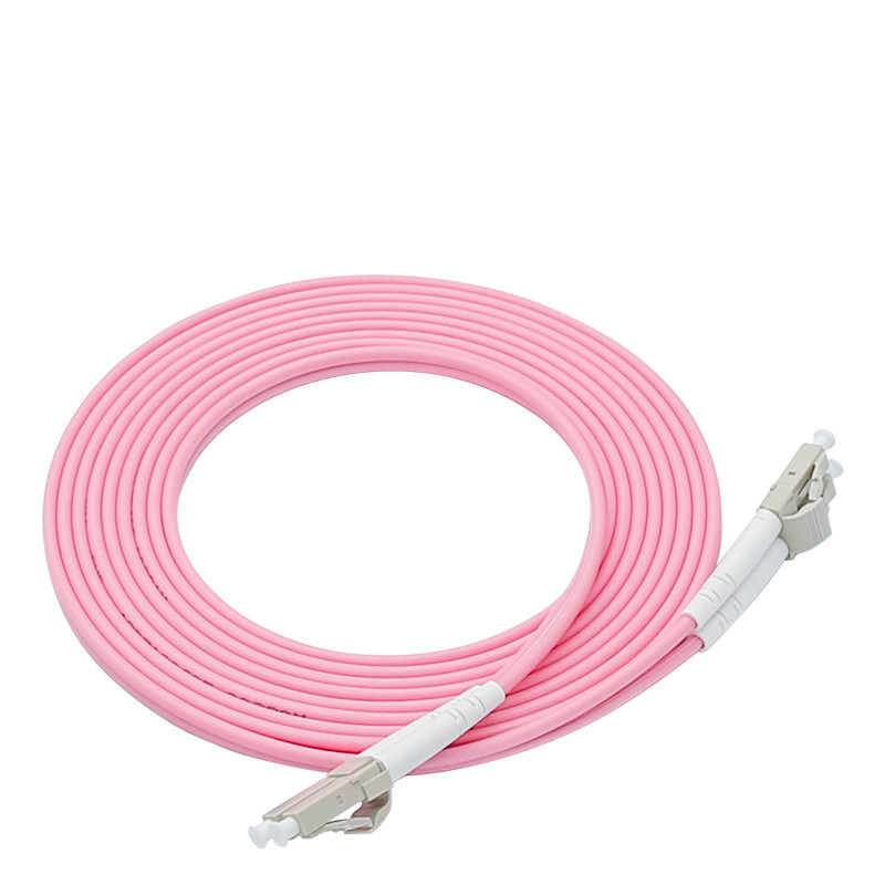 40GB Laser Optimized Multimode Fiber Patch Cable OM4 LC/UPC To LC/UPC Optical Fiber Patch Cord 1M 2M 3M 5M 10M
