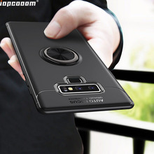 Phone Cases for Samsung Galaxy Note9 Case Finger Ring Stand Shockproof Soft Back Cover Coque 6.2 Inch