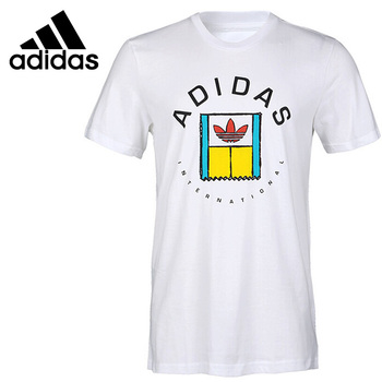 Original New Arrival  Adidas Originals ONCOURT TEE Men's T-shirts short sleeve Sportswear