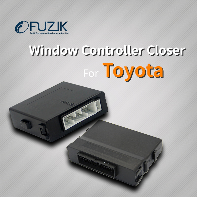 Fuzik Car Power automatic Roll up window closer opener one touch up down for toyota corolla camry yaris highlander rav4 levin window regulator motor for toyota camry window lifter motor 85720 33120
