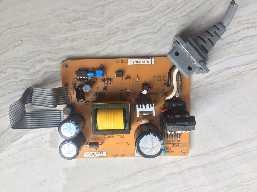 PRINTER POWER SUPLLY BOARD C589 PSB FOR EPSON STYLUS R1800 R2400 G5000 PRINTER-110V printer parts stylus photo r2400 1800 cartridge chip board csic 84439990