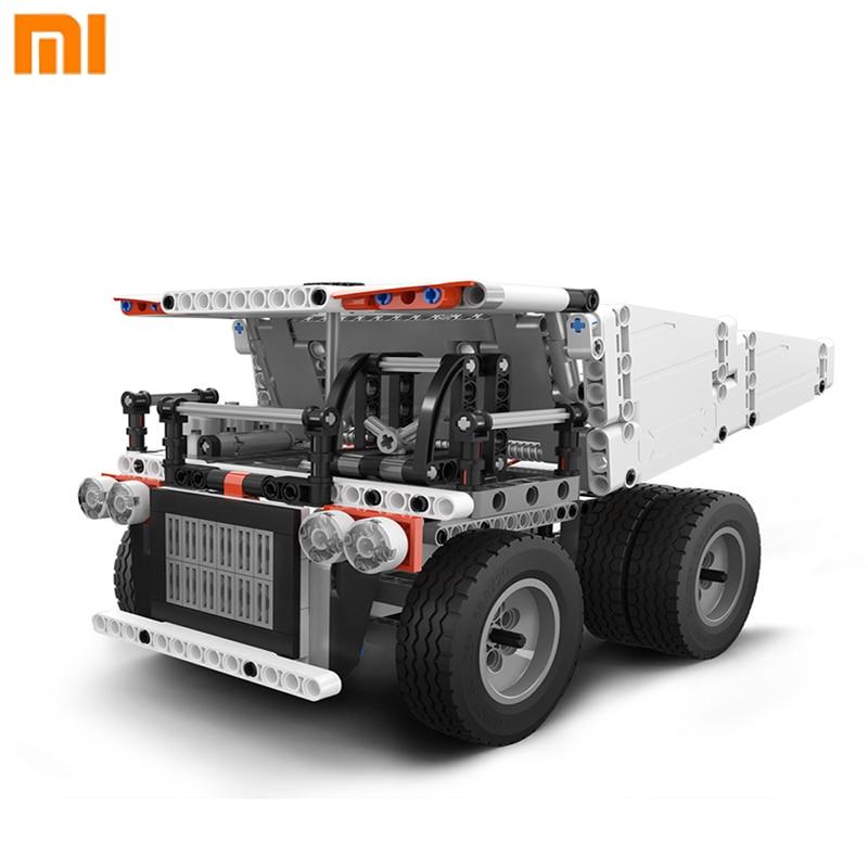 Original Xiaomi Mitu Building Block Mine Truck Steering Wheel Control Dump Lift Smart Remote Control For