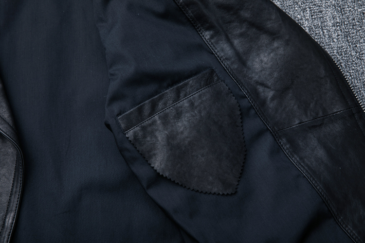 HTB1jsy lrZnBKNjSZFhq6A.oXXaq MAPLESTEED 100% Natural Sheepskin Tanned Leather Jacket Black Soft Men's Motocycle Jackets Motor Clothing Biker Coat Autumn M111