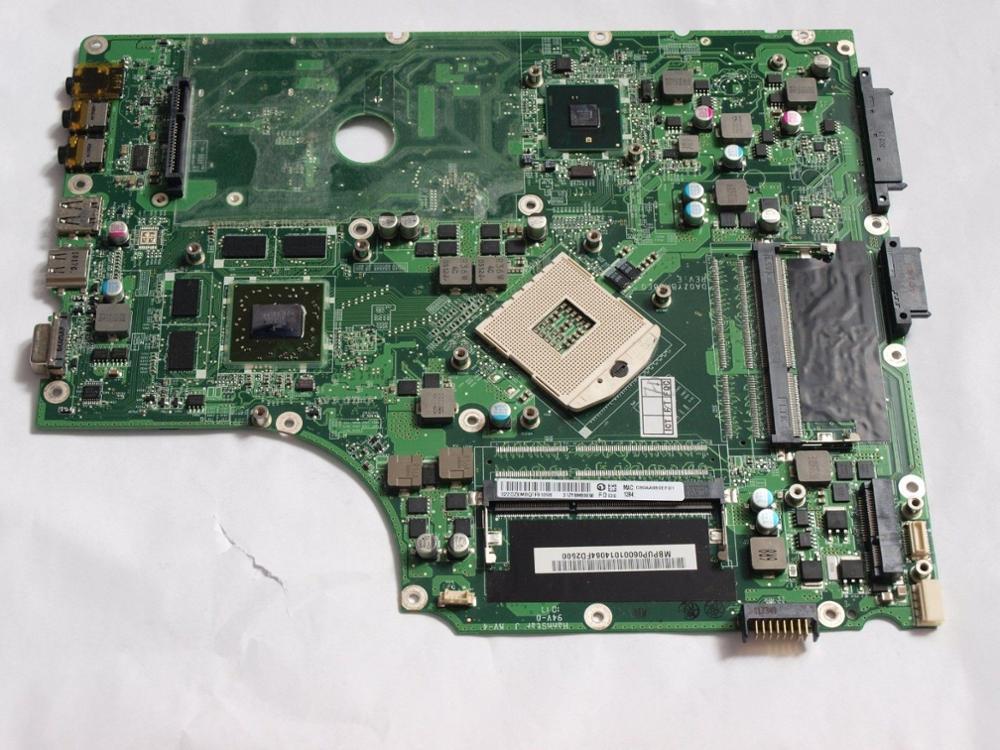 MBPUN06001 for font b Acer b font Aspire 7745G Laptop motherboard DA0ZYBMB8E0 ZYB 2 Memory Slot