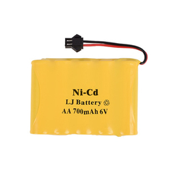 6.0v 700mAh Ni-CD battery for RC car RC Boat rechargeable battery pack 700mah 2A ni-cd nicd batteries NI CD cell for RC toys