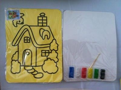 100 шт./лот, Цветного Песка художественная роспись комплекты праздник и игрушки для детей